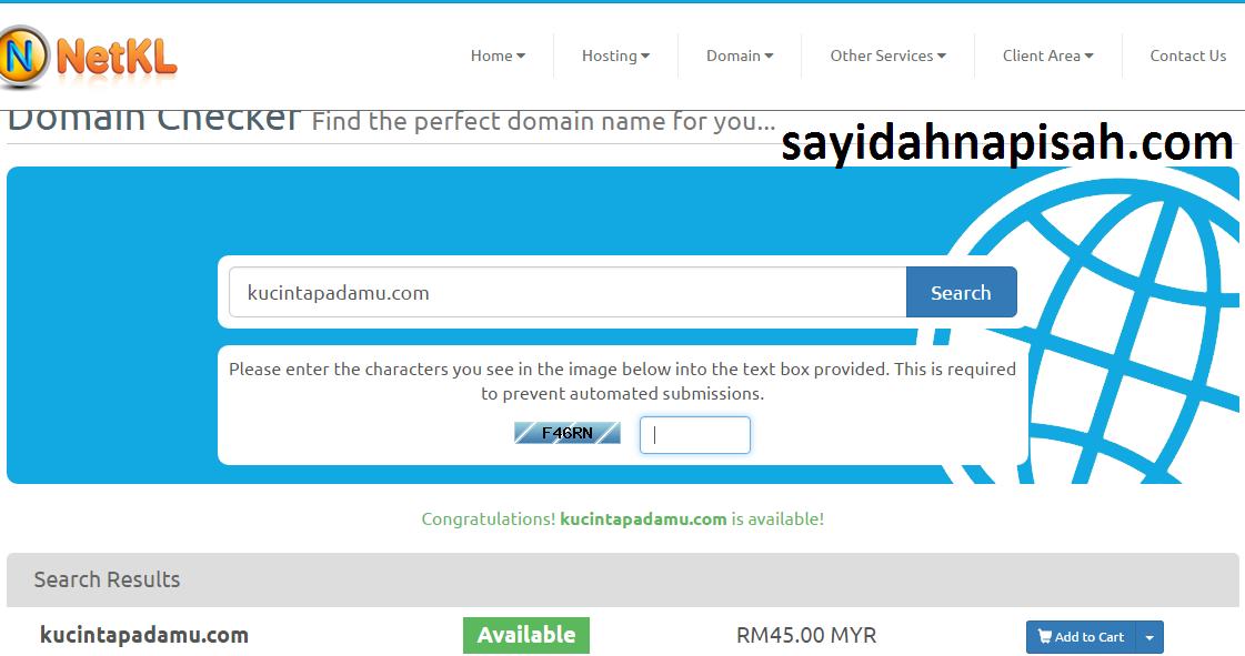 Boleh Upah Saya Untuk Jadikan Blog Berdomain .com Jika Tak Tahu Cara Tukar Domain Blog