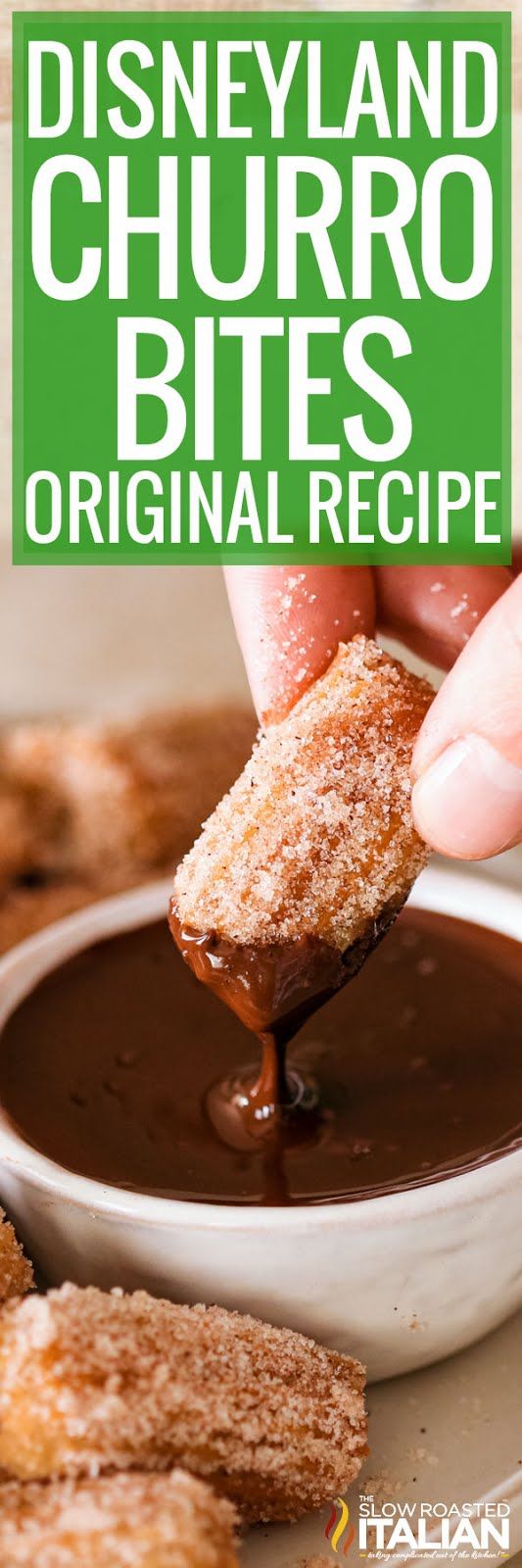 Churros Recipe from Disney Parks (Churro Bites)