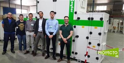 Diseñan un nuevo sistema de climatización que produce aire frío a partir de energía solar