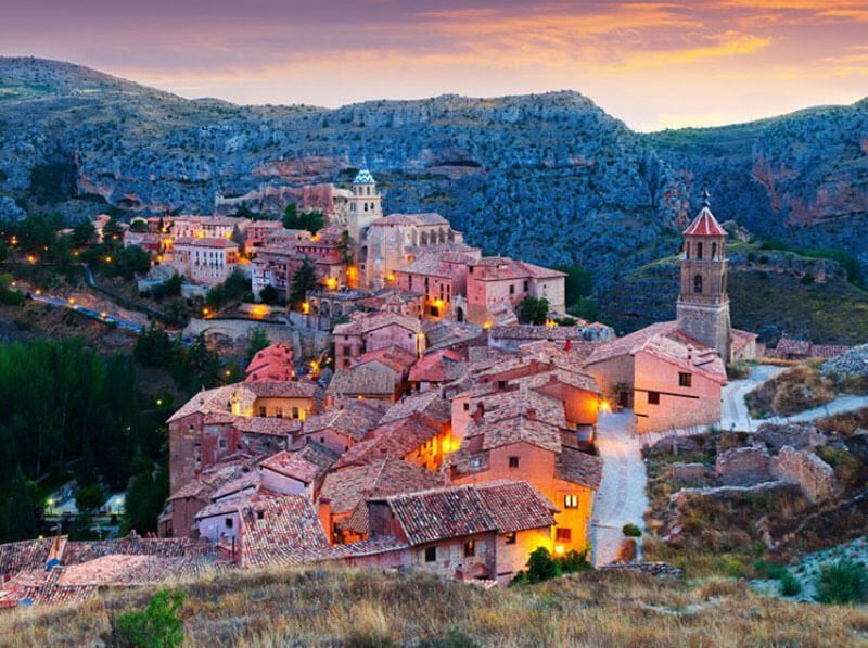 32 Stunning Places on Earth You Should Visit Before You Die - Albarracin, Spain