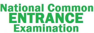 National Common Entrance Examination Timetable for 2018/2019