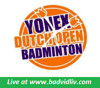 Dutch Open 2018 live streaming