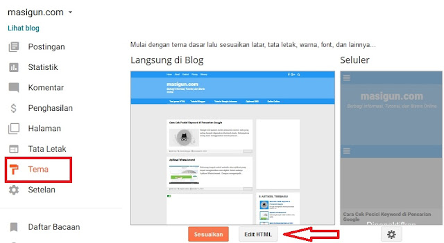 Cara Membuat Template Blog SEO Friendly