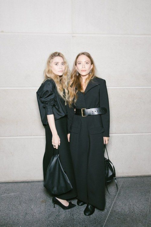 All-Black Outfits for Fall