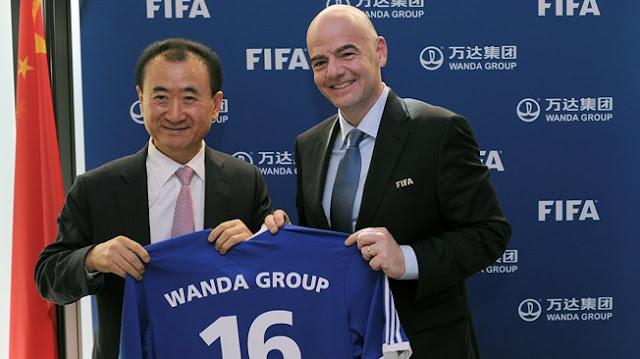 El dueño chino del Atleti patrocinará a la FIFA