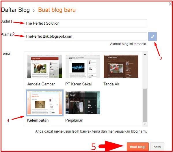 Cara Membuat Blog Di Blogger Untuk Pemula 2018 2