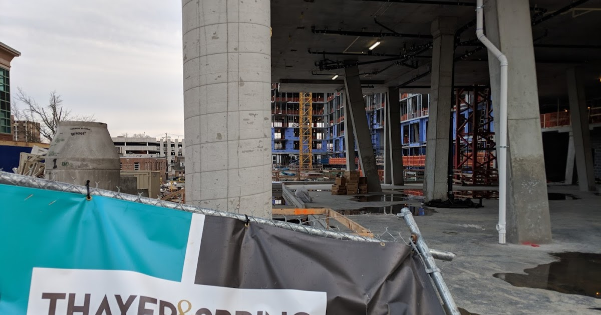 Silver Spring construction update: Thayer & Spring apartments