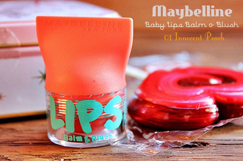 Бальзам для губ + румяна 2-в-1 Maybelline Baby Lips Balm & Blush / отзывы