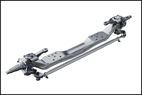 PACCAR proprietary front axle