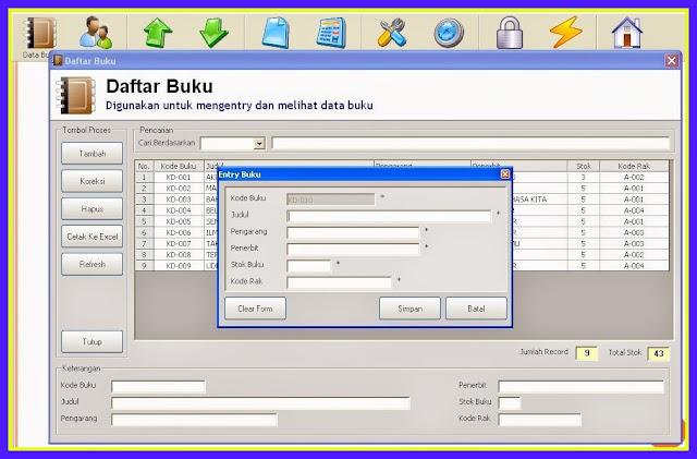 Kumpulan Aplikasi Pengelola Data Perpustakaan Terbaru