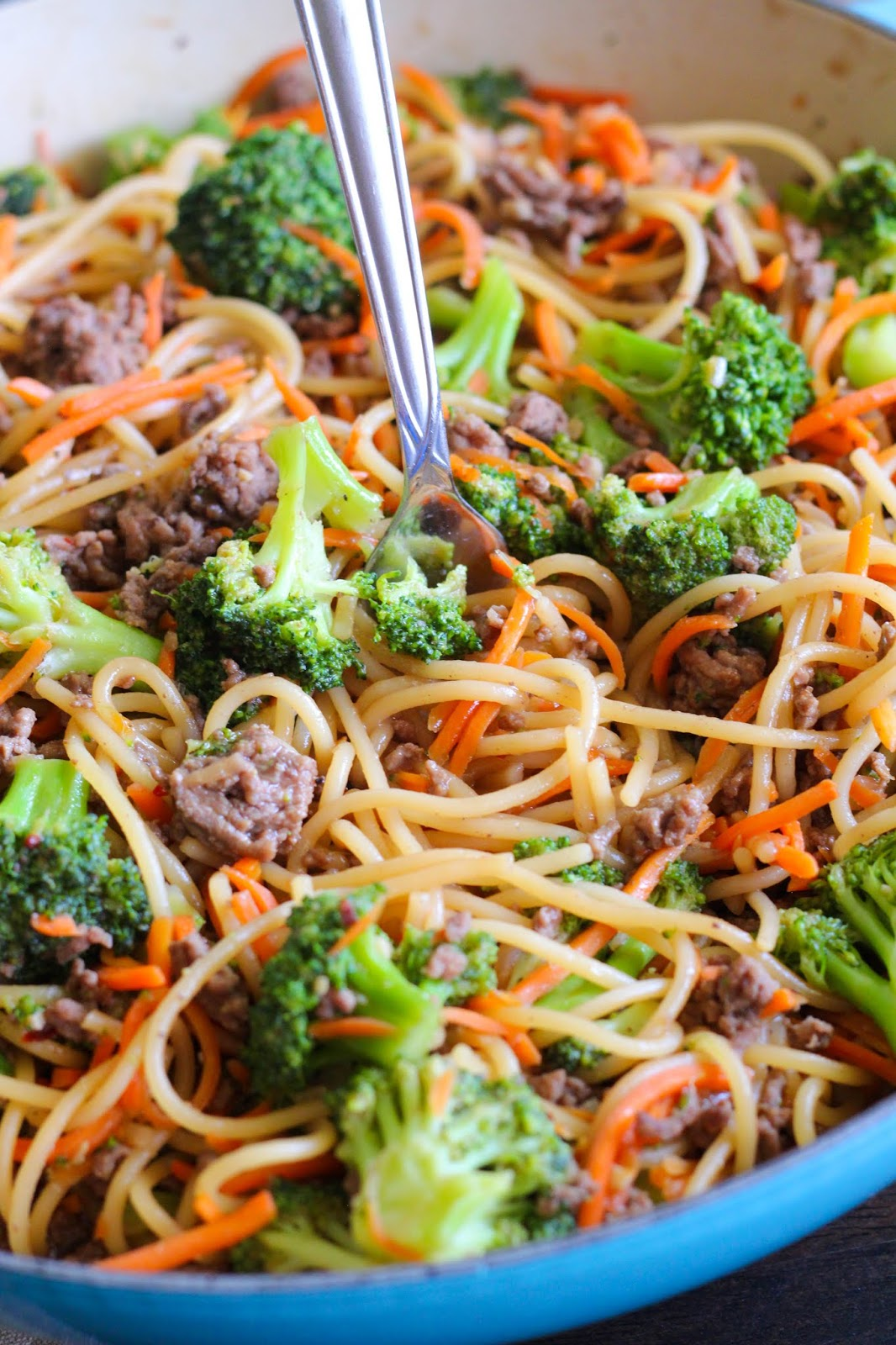 Eat Cake For Dinner: Easy Ground Beef Lo Mein {In under 30 ...