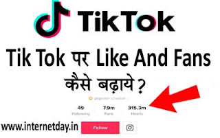 Tik Tok Par Like And Fans Kaise Badhaye