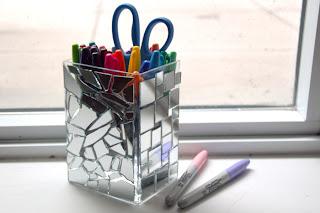 Aynalarla Mozaik Çalışma Yapımı