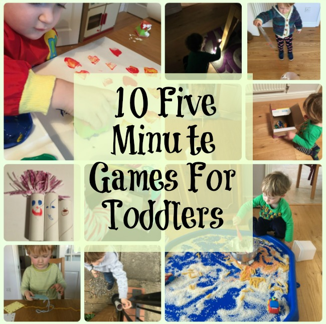 10-five-minute-games-for-toddlers-text-above-collage-of-image-of-toddler-playing