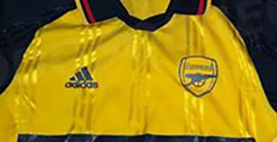 f7fc27422bc Adidas Arsenal 19-20 Icon Retro Jersey Leaked