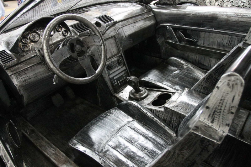 From scrap metal to supercars