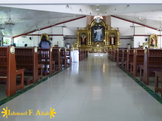 Inside the Saint Michael the Archangel Chapel in Fort Bonifacio