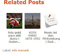Membuat Related Post Blogger 2012