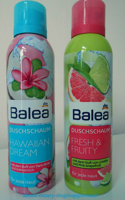 Bales Duschschaum Hawaiian Dream und Fresh & Fruity!