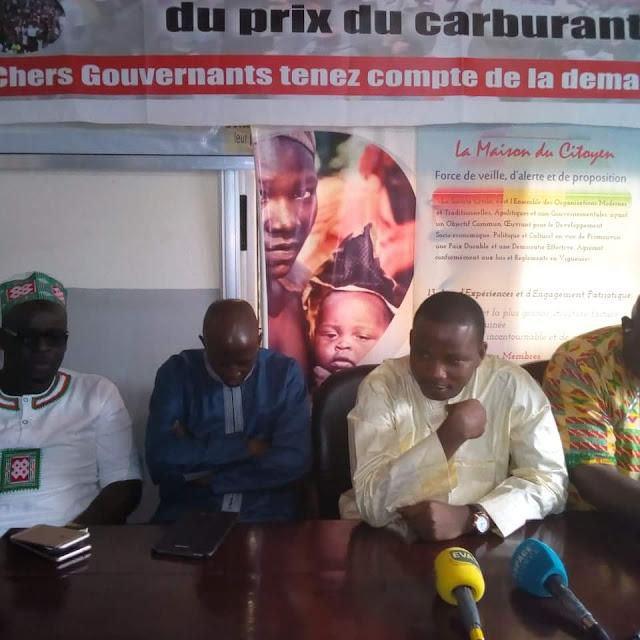 Monsieur Dansa Kourouma président du Conseil National des Organisations de la Société civile Guinéenne (CNOSCG)