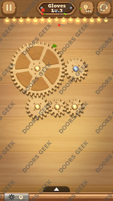 Fix it: Gear Puzzle [Gloves] Level 3 Solution, Cheats, Walkthrough for Android, iPhone, iPad and iPod