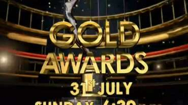 Poster Of Gold Awards 31st July 2016 450MB HDTV 480p Free Download Watch Online Worldfree4u