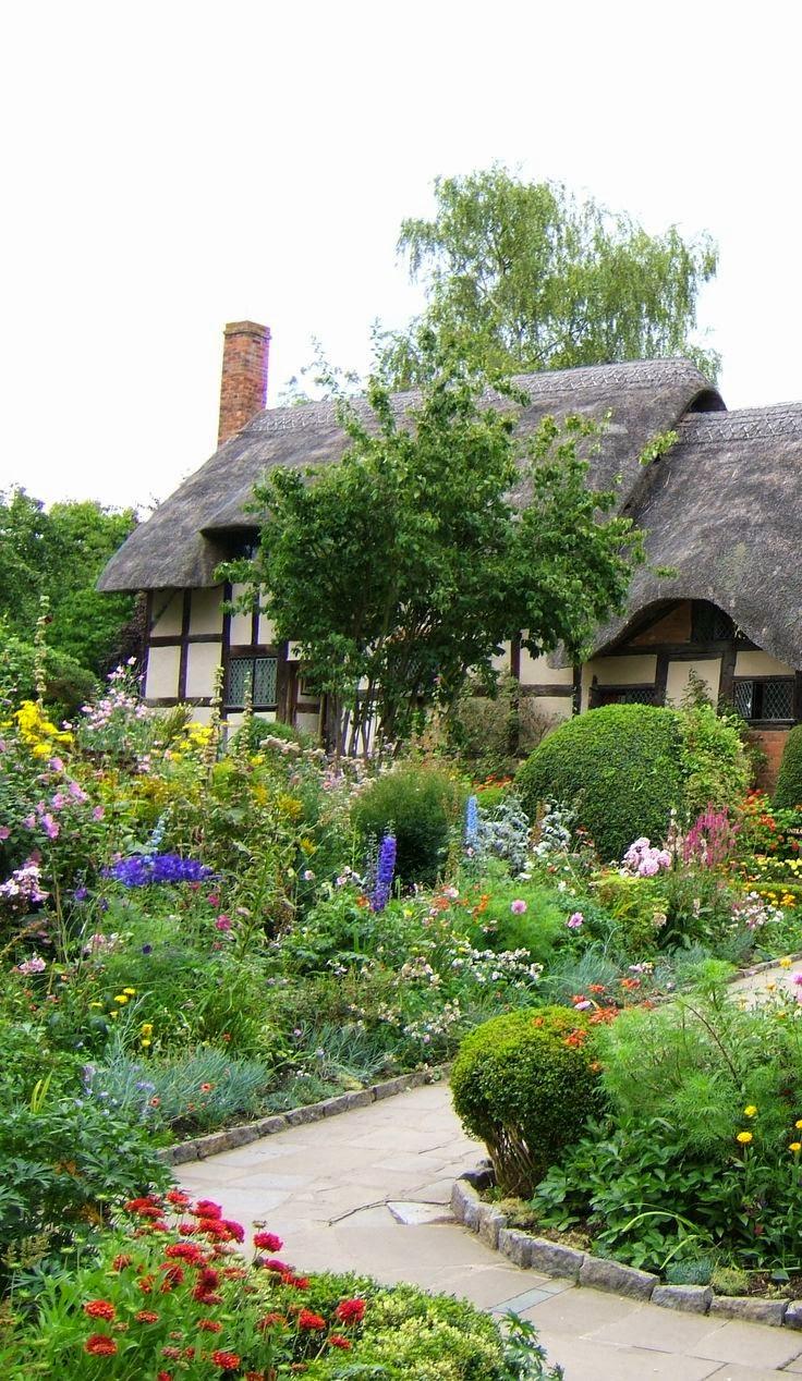 Home garden 40 inspirations pour un jardin anglais - My little jardin ...