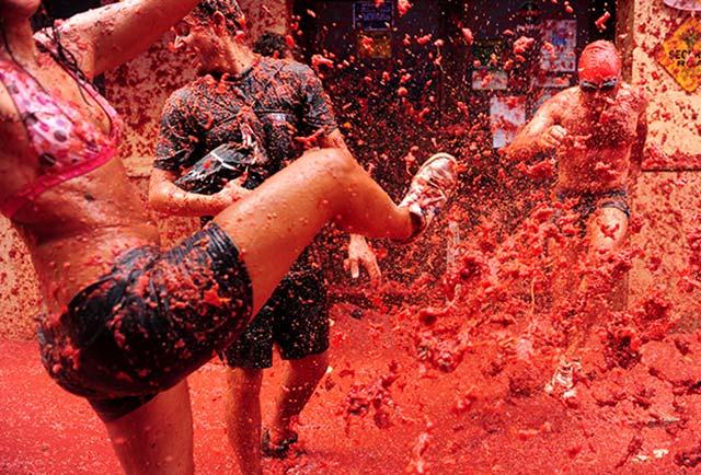 Фестиваль Томатина фото 1