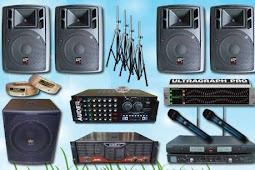 Peralatan acsessoris yang diperlukan di soundsystem