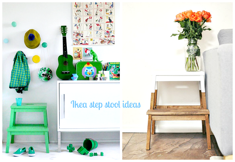 ikea stool diy idea