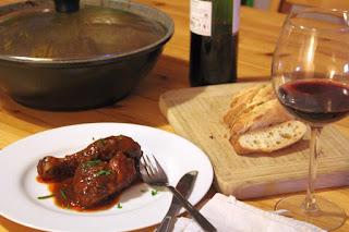 GLATZKOCHS WELT: Huhn in Wein - nix tun und genießen