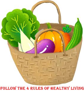 स्वस्थ रहने के 4 नियम अपनाओ
