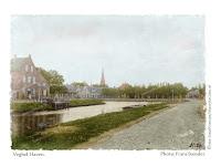 Ingekleurde foto's Veghel haven