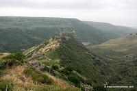 Gamla Natuurreservaat in Golan gebergte (Golanhoogvlakte)