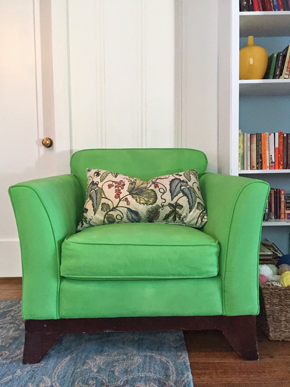 How To Paint Upholstery With Chalk Paint