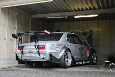 Nissan GT-R Skyline Hakosuka Auto Service Kishimoto Racing Car PGC-10