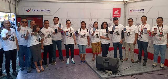 Launcing Aplikasi Motorku Ekspress Bali 2019