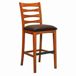Java teak chair barstool atau kursi jati produksi jawa berjenre barstool