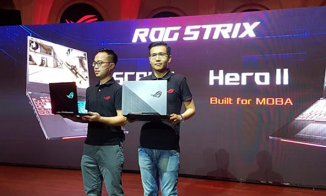 Asus Meluncurkan ROG Strix GL504 Hero II