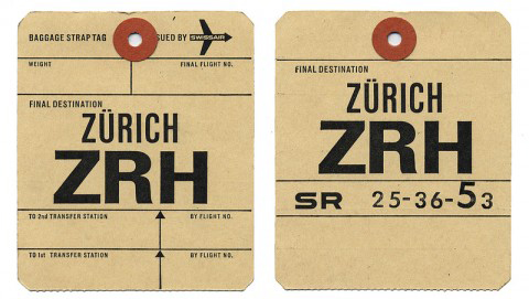 Visual shizzle vintage luggage tags for Airline luggage tag template