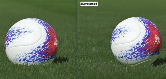 3D Grass Camp Nou PES 2018