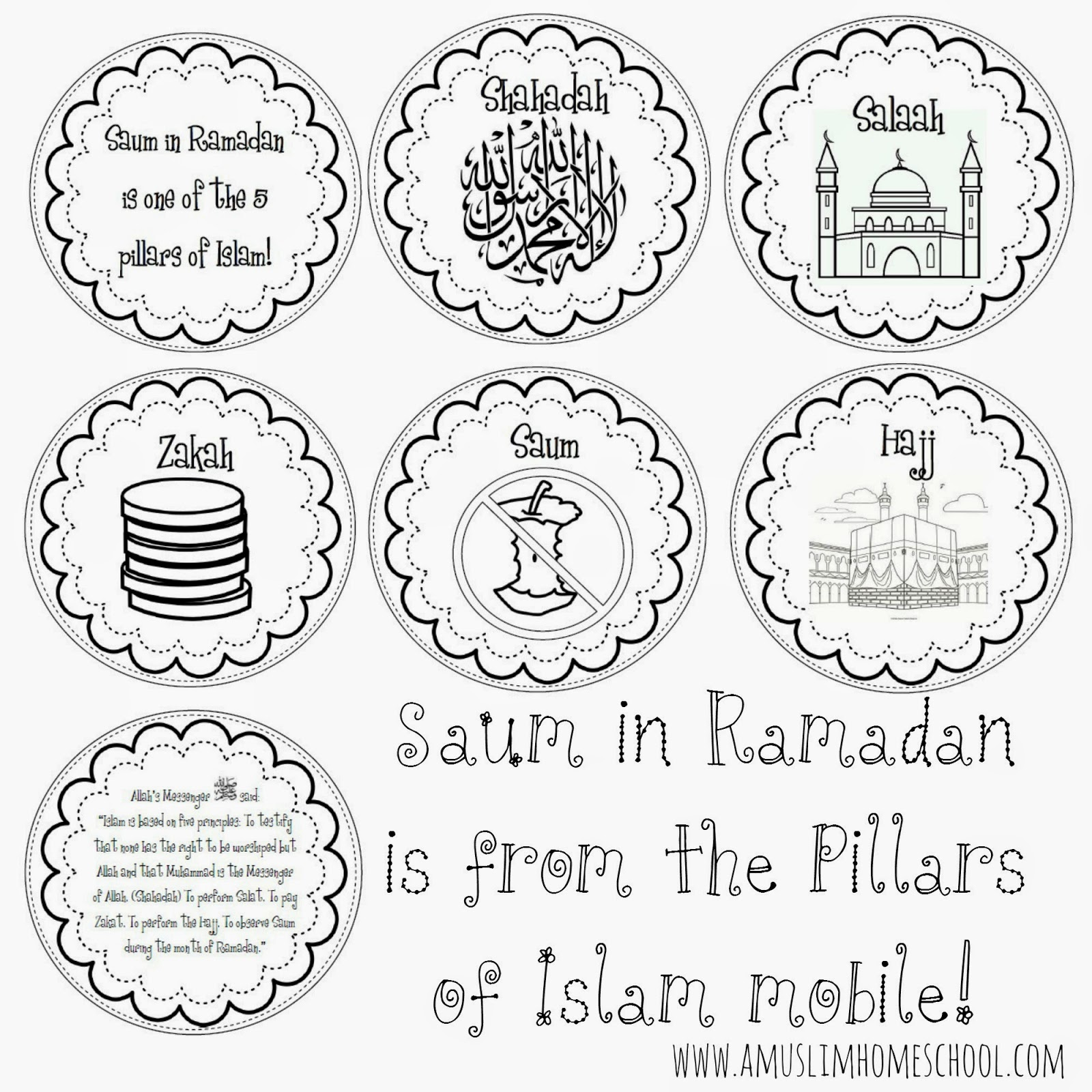 A Muslim Homeschool Saum In Ramadan Is One Of The 5