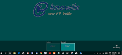 multi desktop on windows 10