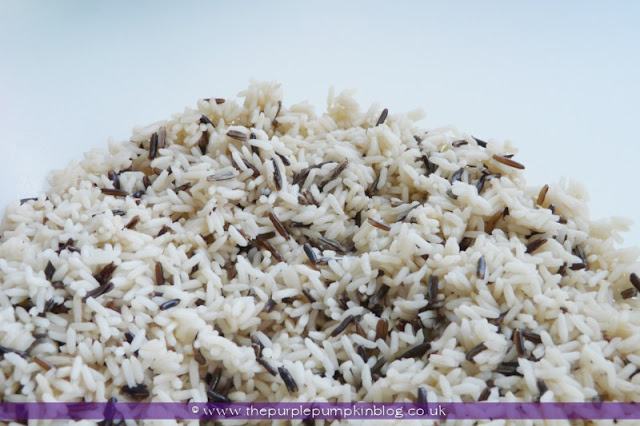 Tropical Island Rice Recipe at The Purple Pumpkin Blog