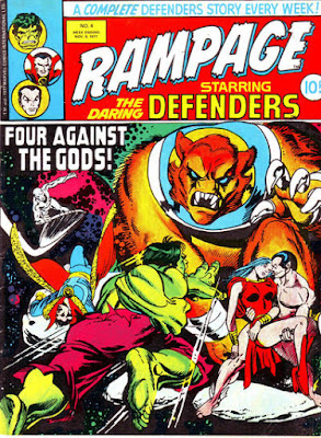Rampage #4, the Defenders