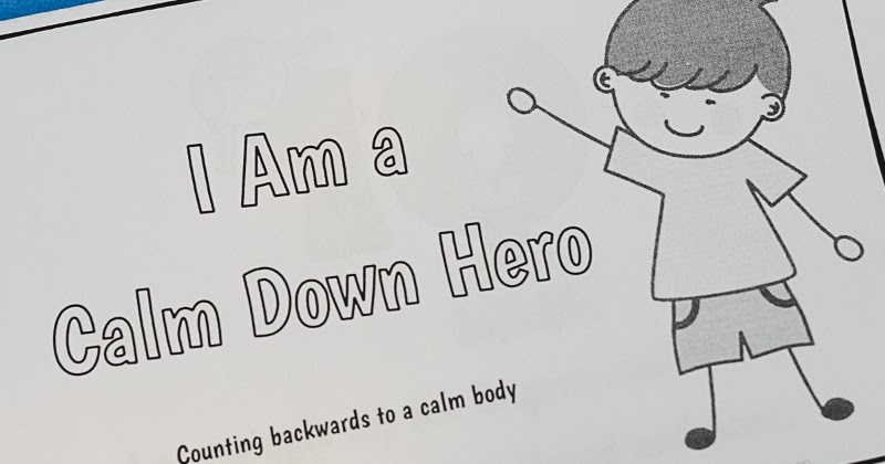 Free Printable Calm Down Strategies Story for Kids | And Next Comes L