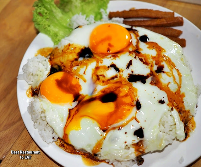 ECO WINE KUCHAI LAMA - Menu - Hong Kong Wan Pan Tan 3 Eggs Rice