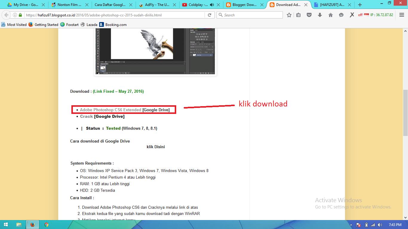 Download Adobe Photoshop CS6 Terbaru 2016