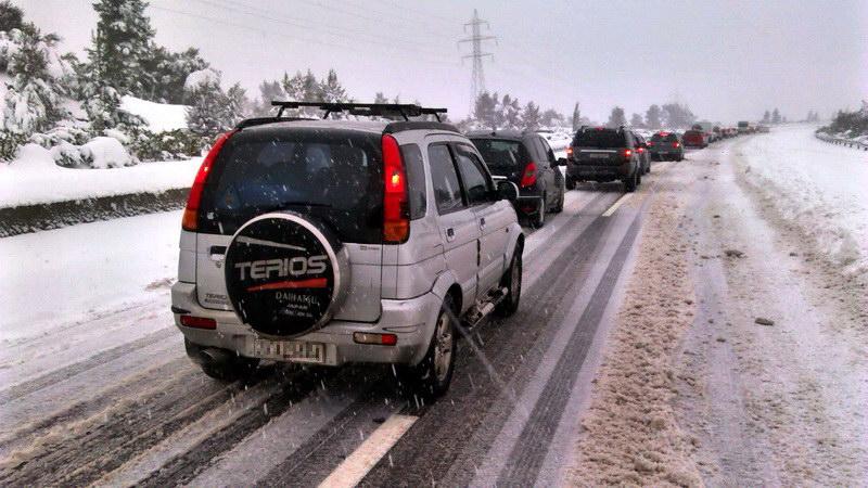 Απαγόρευση κυκλοφορίας όλων των οχημάτων στο επαρχιακό δίκτυο του βορείου Έβρου