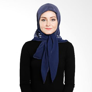 Gambar Jilbab Elzatta Polos Terbaru